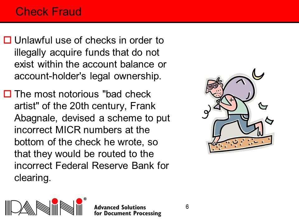 27 Summary  Fraud will always be around.