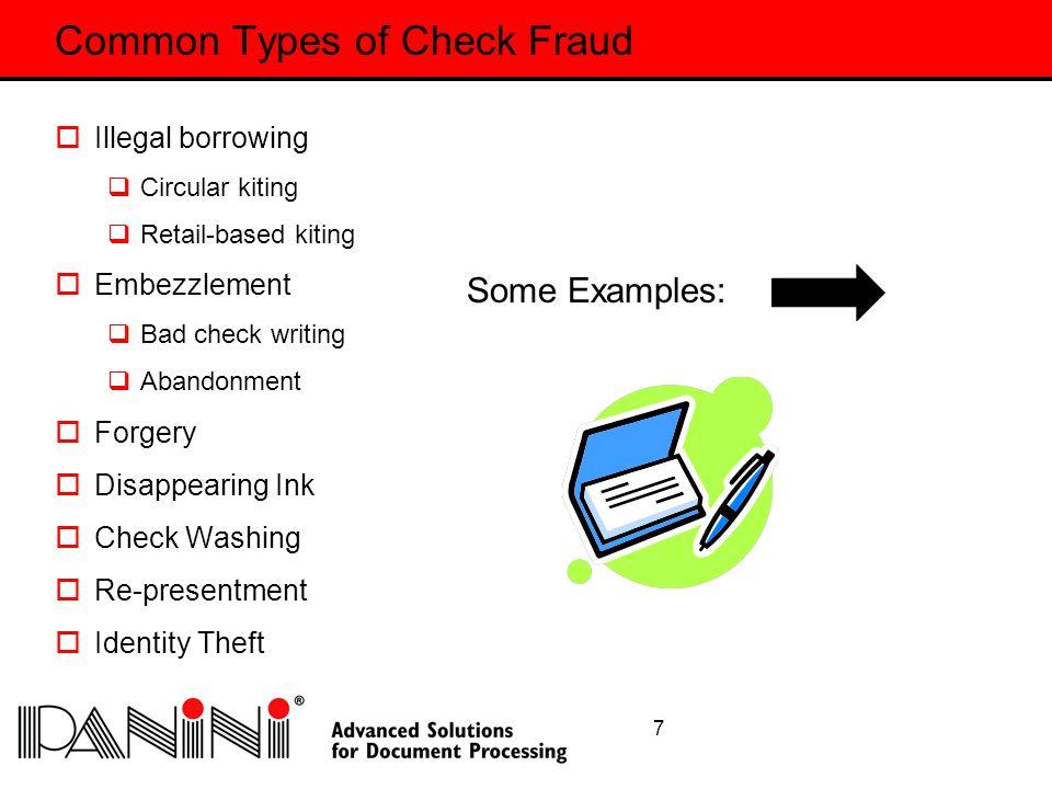 18 Check Fraud Enough is Enough is Enough!