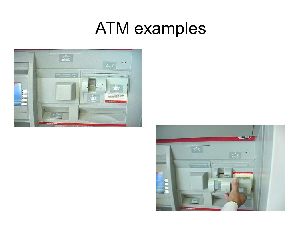 ATM examples