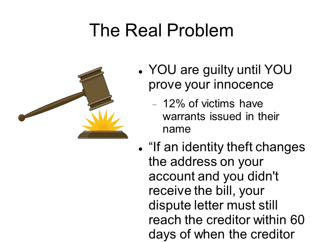 Resources Internet Crime Complaint Center – http://www.ic3.gov/default.aspx FPI – http://www.fbi.gov Federal Trade Commission - http://www.consumer.ftc.gov/features/feature- 0014-identity-theft Privacy Rights Clearinghouse: www.privacyrights.org MSN Money ID Theft Prevention& Survival: http://www.identitytheft.org/
