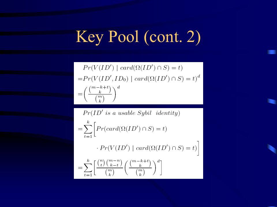 Key Pool (cont. 2)