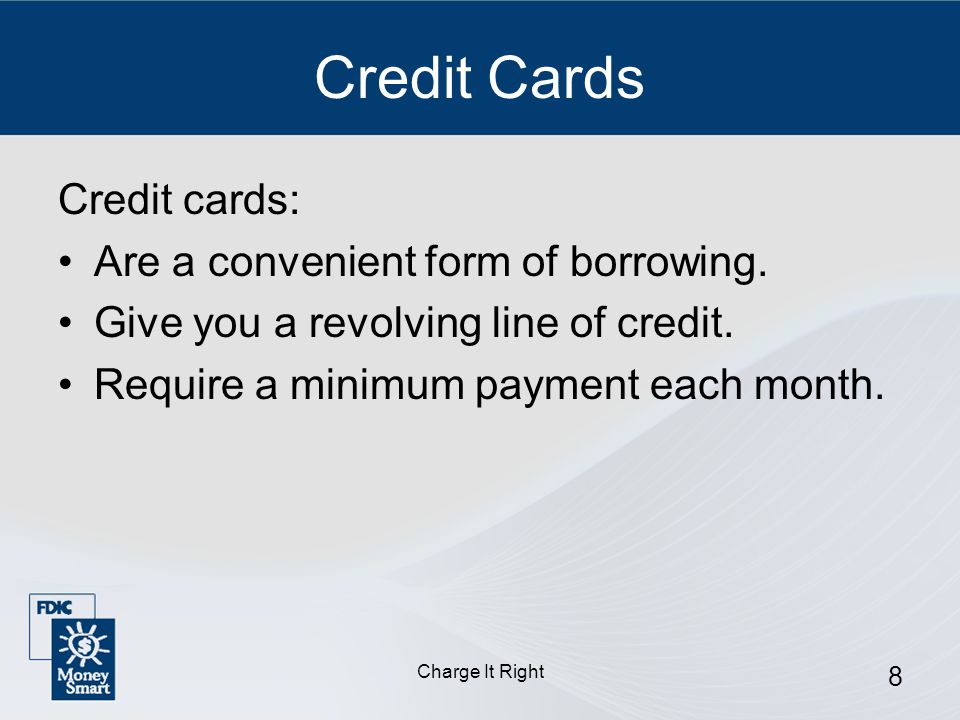 Charge It Right 29 Denial Notice Lists the reasons for denying credit, such as: You have a bad credit history.