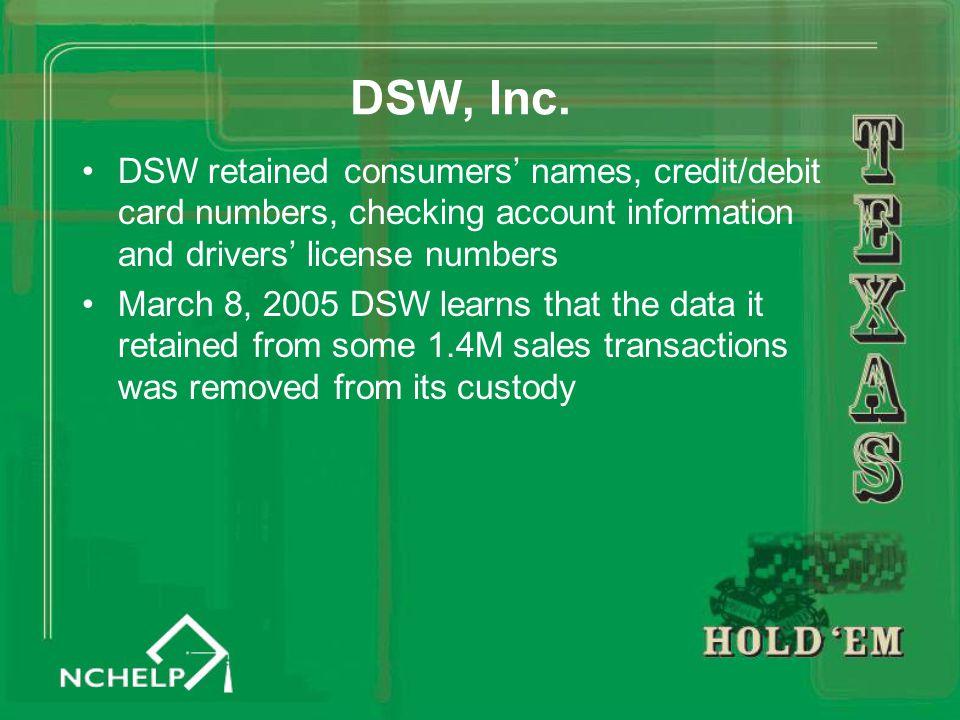 DSW, Inc.