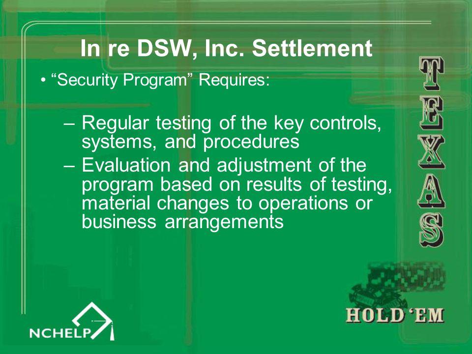 In re DSW, Inc.