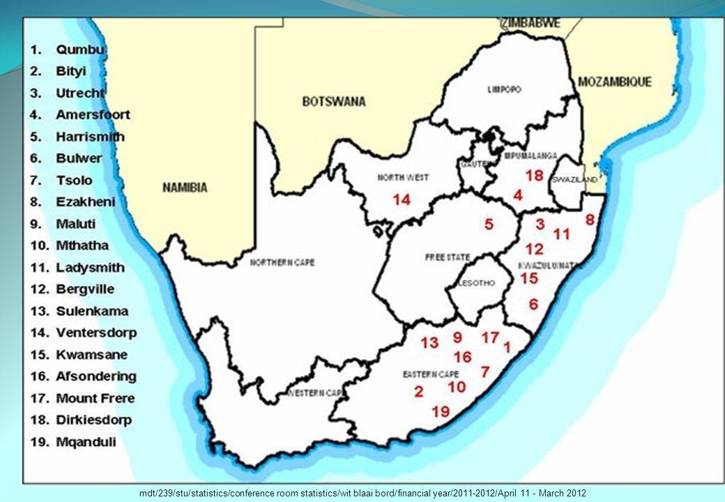 mdt/239/stu/statistics/conference room statistics/wit blaai bord/financial year/2011-2012/April 11 - March 2012