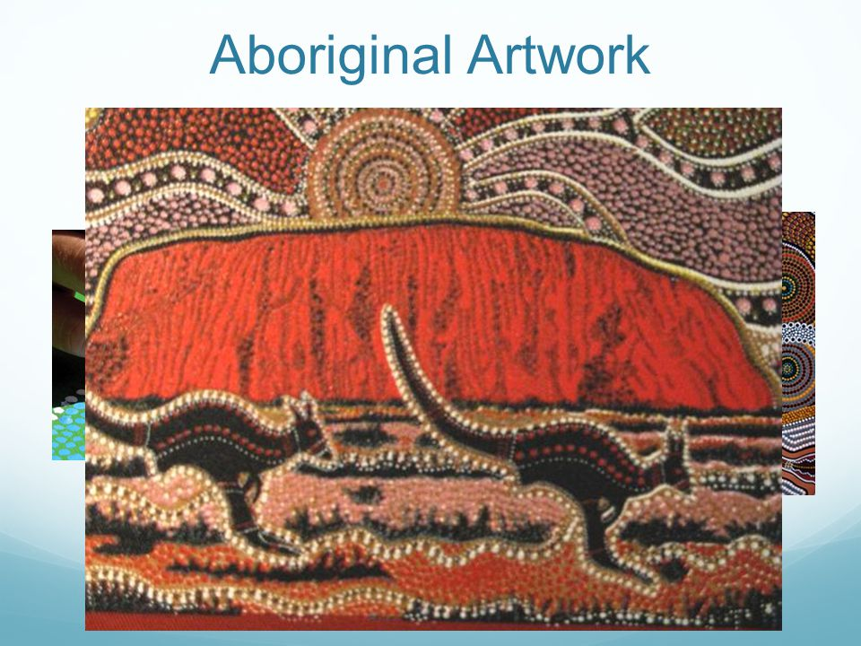 "Aboriginal Artwork ""dot painting"""