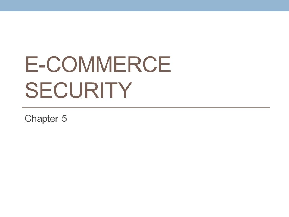 Security Threats in the E-Commerce Environment From a technology perspective, there are three key points of vulnerability when dealing with e-commerce: the client the server, and the communications pipeline Figure 5.3 illustrates some of the things that can go wrong at each major vulnerability point in the transaction