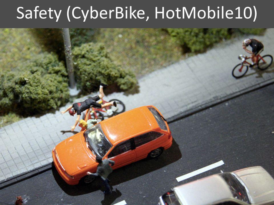 Route quality (BikeStatic, CHI10) 4
