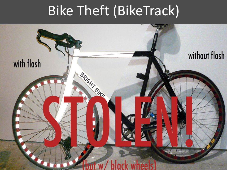 Bike Theft (BikeTrack) 6