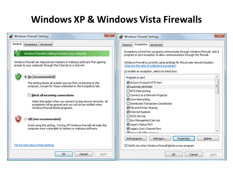 9. Use Windows Vista