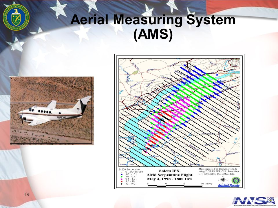 19 Aerial Measuring System (AMS)