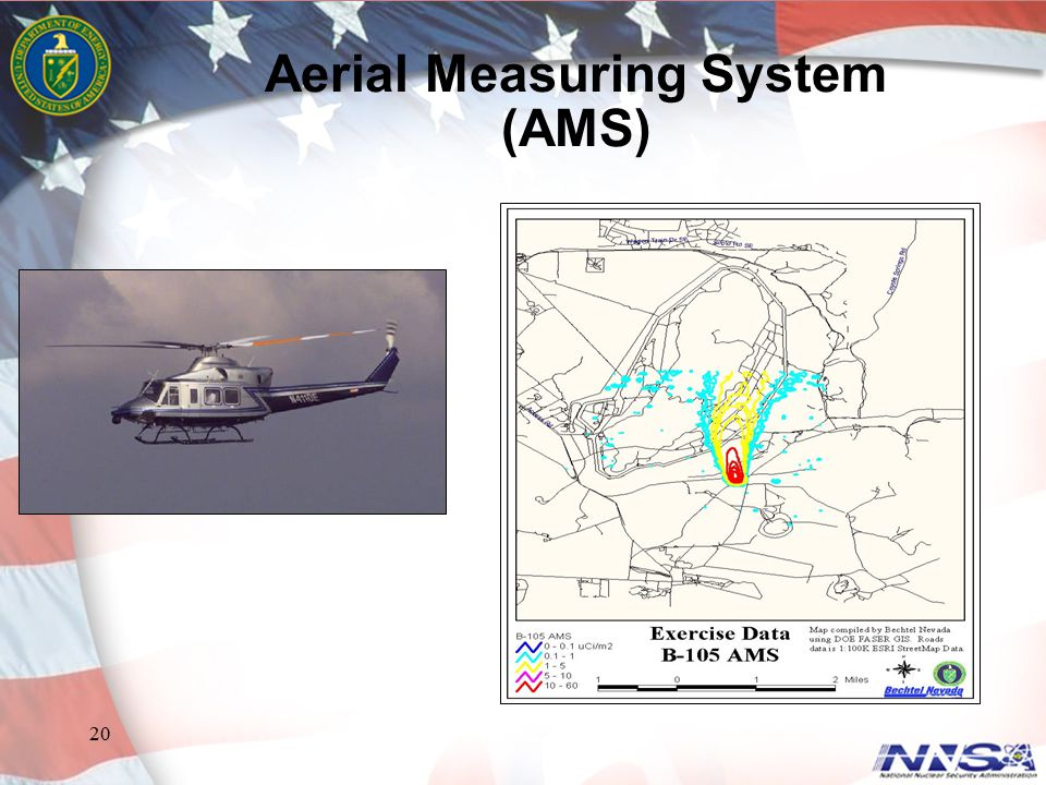 20 Aerial Measuring System (AMS)