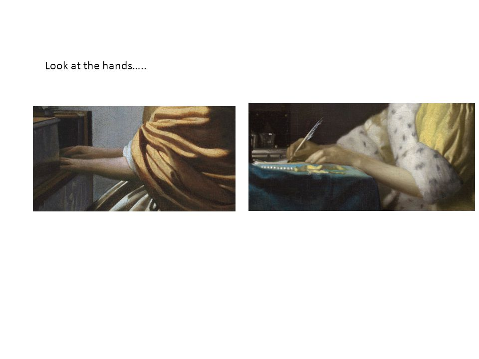 Look at the hands…..