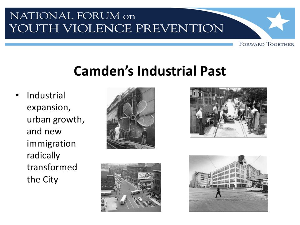 Camden's Industrial Past Industrial expansion, urban growth, and new immigration radically transformed the City