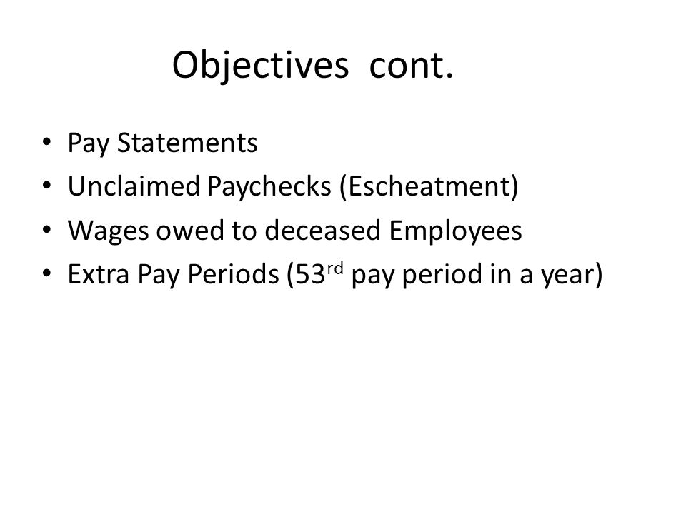 Paycards Employee & Employer Benefits Employer: Reduced Costs Enhanced efficiency All employees eligible Increases employee productivity time Escheatment reduction