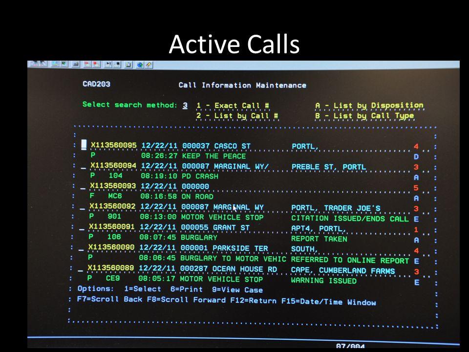 Active Calls