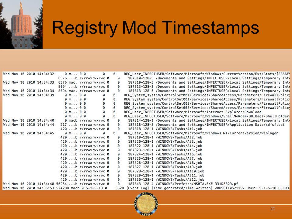 Registry Mod Timestamps 25