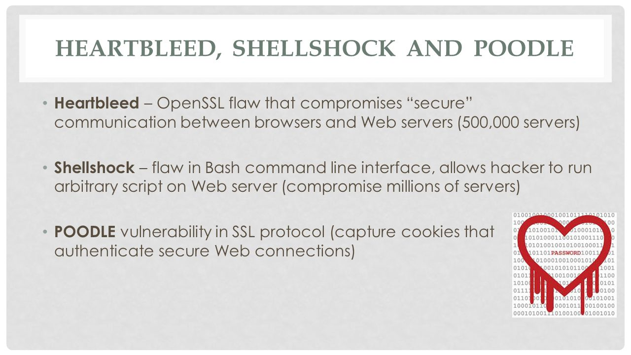 WHAT HAS HAPPENED ALREADY Android malware (Android/PowerOffHijack.A) that makes calls or take pictures even if phone shut down Lenovo pre-installed Superfish adware pusher, analyzes images and presents ads, sees user traffic and can alter it violating chain of trust with destination, vulnerable to man in the middle attacks PrivDog similar to Superfish but considered worse