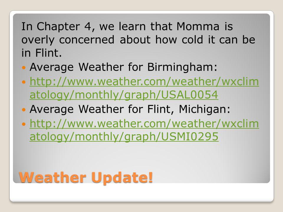 Weather Update.