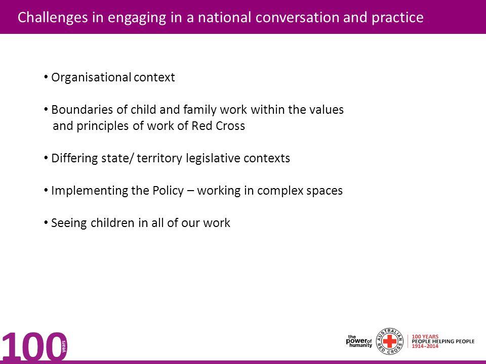Contact details Bronwen Elliott Good Praxis Pty Ltd Jennifer Evans, National Project Lead Child Protection jeevans@redcross.org.aujeevans@redcross.org.au