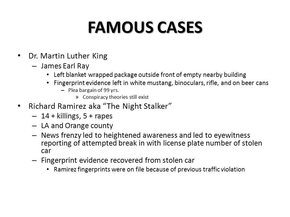 FAMOUS CASES Dr.
