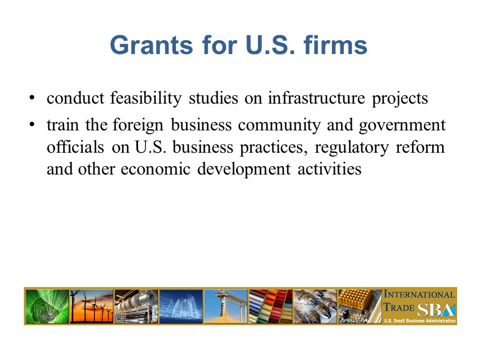 Grants for U.S.