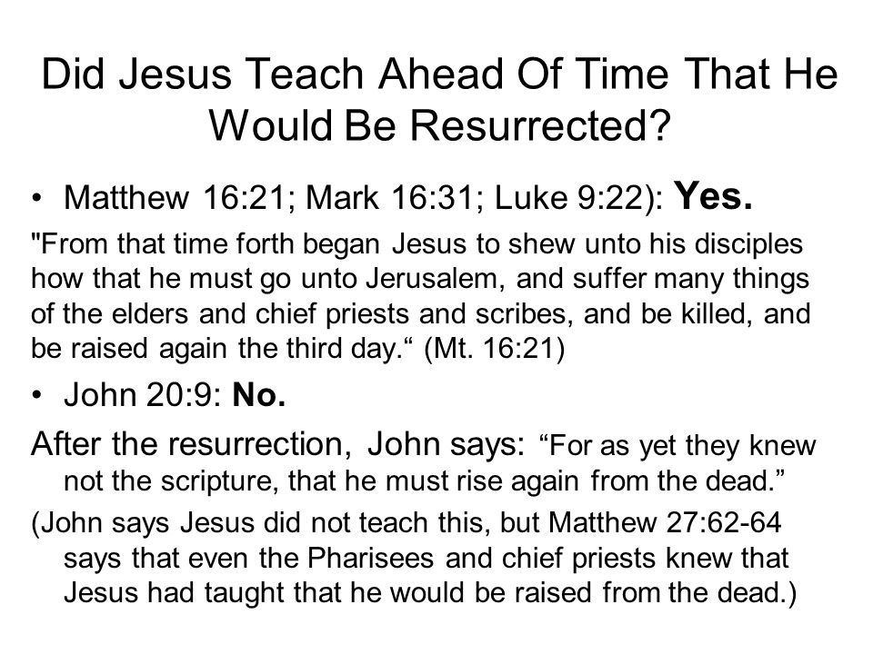 """When Jesus Appeared to the Disciples and First Said """"Peace Be Unto You,"""" What Effect Did This Have on Them? Luke 24:37: """"… they were terrified and aff"""