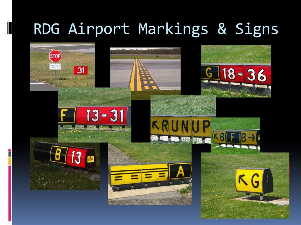 RDG Airport Markings & Signs