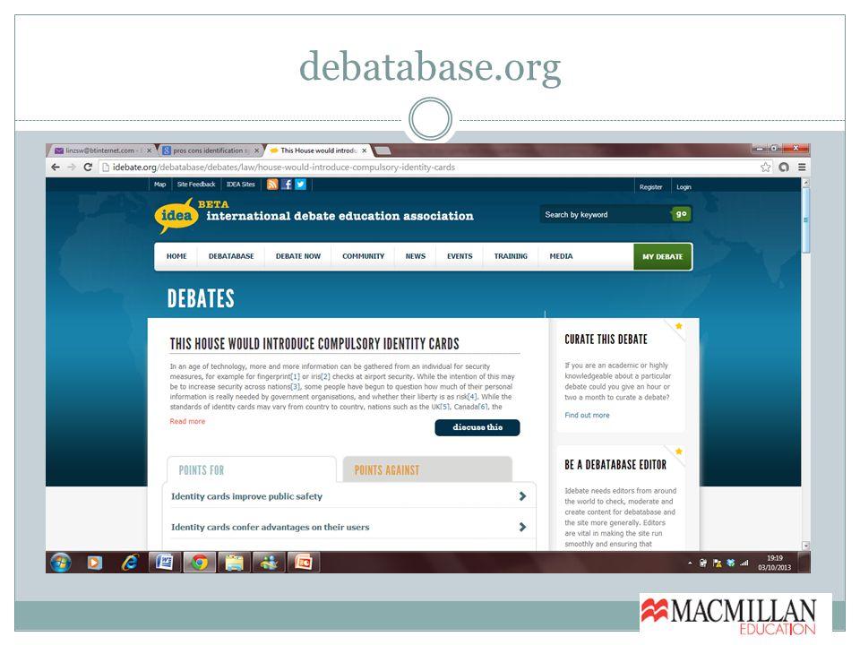 debatabase.org
