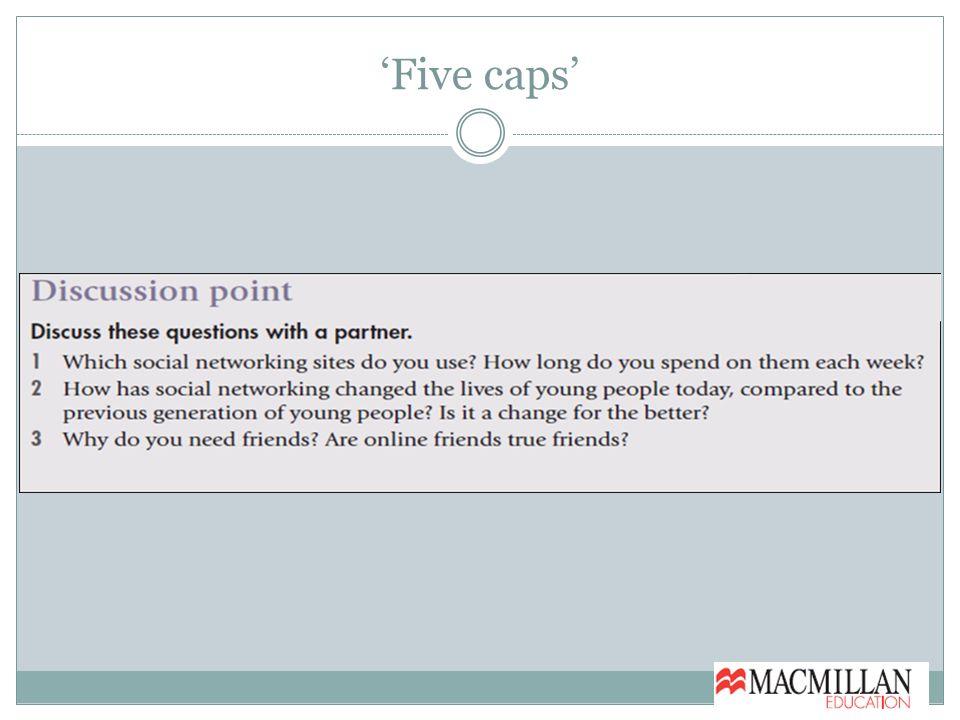 'Five caps'