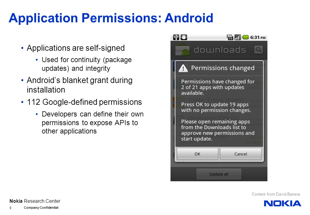 Nokia Research Center Using Smartphones for Authentication 10 [ Coming up next! ]