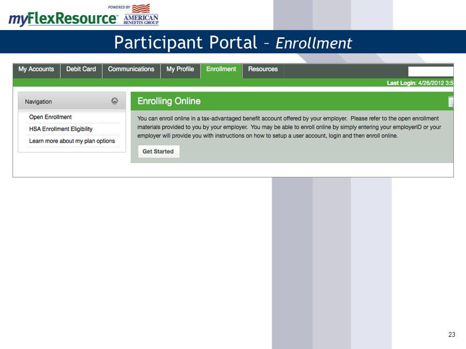24 Participant Portal – Resources