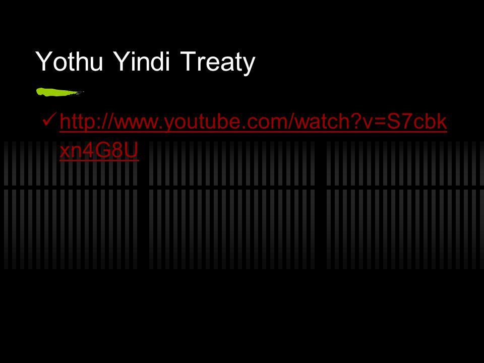 Yothu Yindi Treaty http://www.youtube.com/watch?v=S7cbk xn4G8U http://www.youtube.com/watch?v=S7cbk xn4G8U