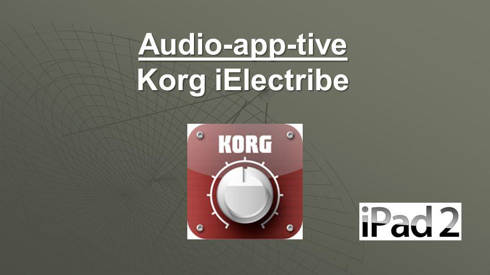 Audio-app-tive Korg iElectribe