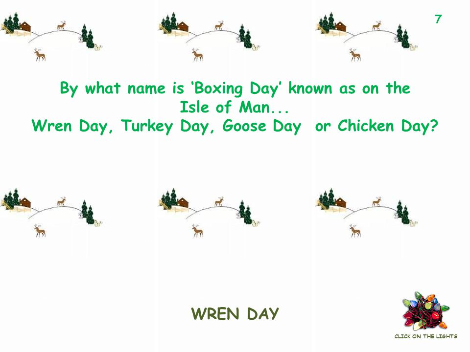 By what name is 'Boxing Day' known as on the Isle of Man...