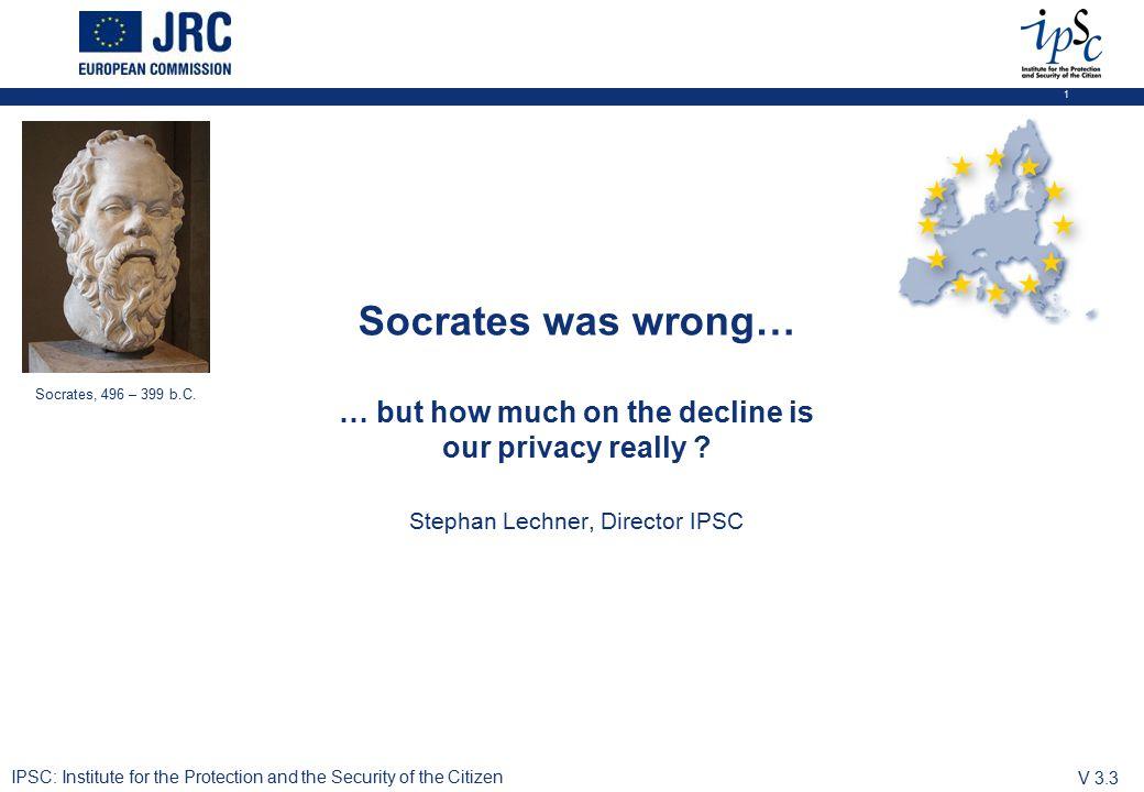 1 Socrates, 496 – 399 b.C.
