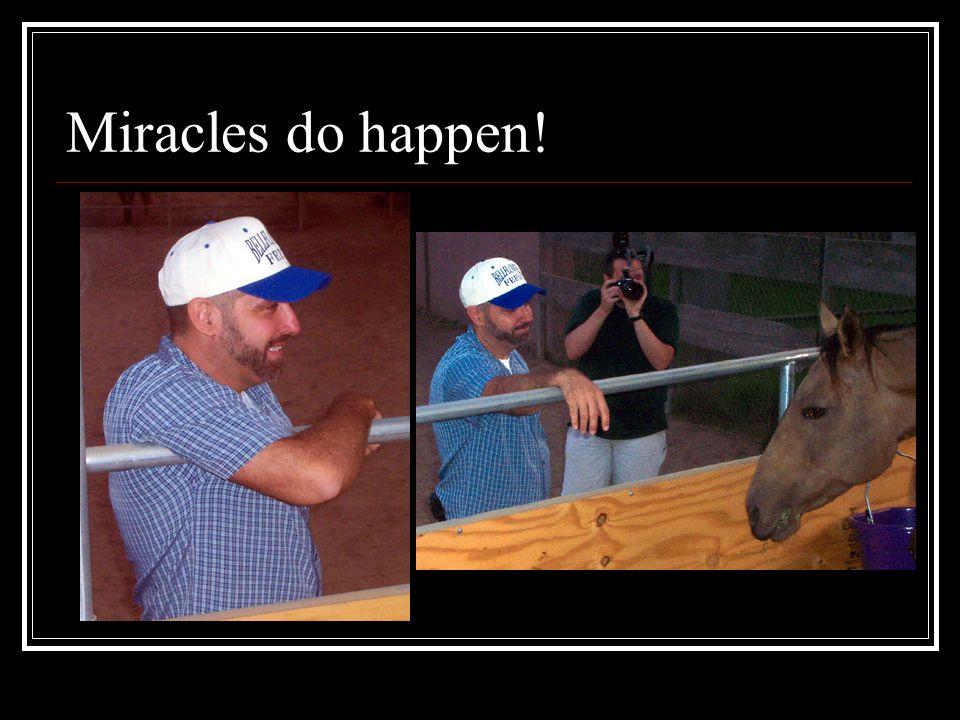 Miracles do happen!
