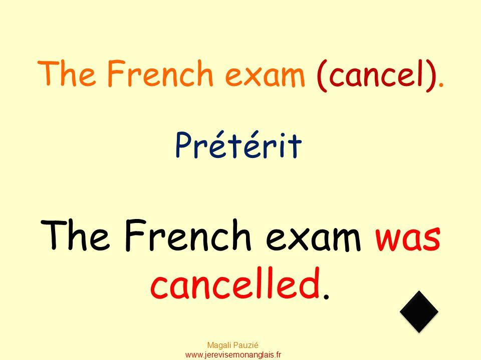 Magali Pauzié www.jerevisemonanglais.fr Our homework has been done. Present perfect Our homework (do).