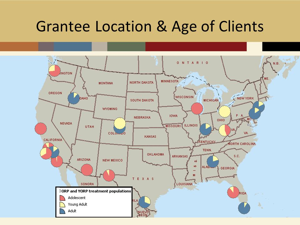Grantee Location & Age of Clients