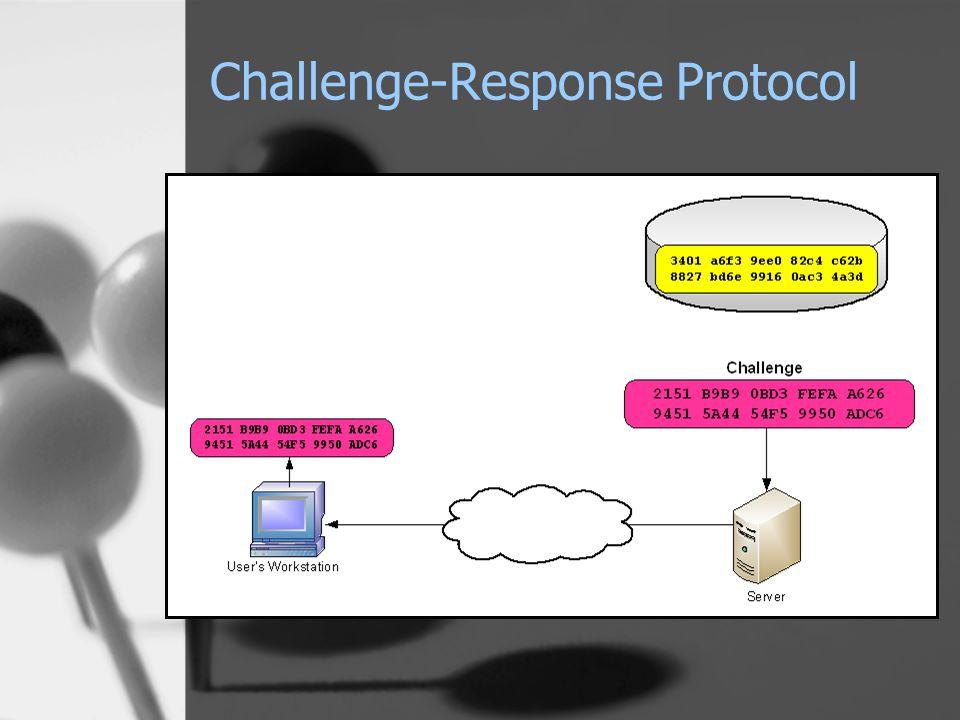 Challenge-Response Protocol