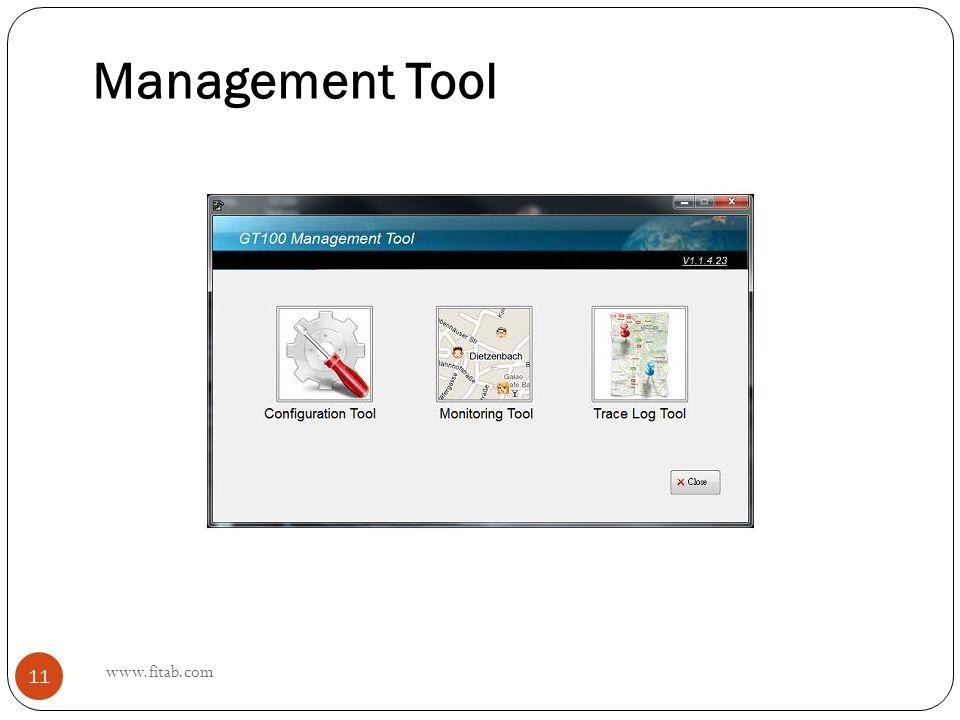 Management Tool www.fitab.com 11