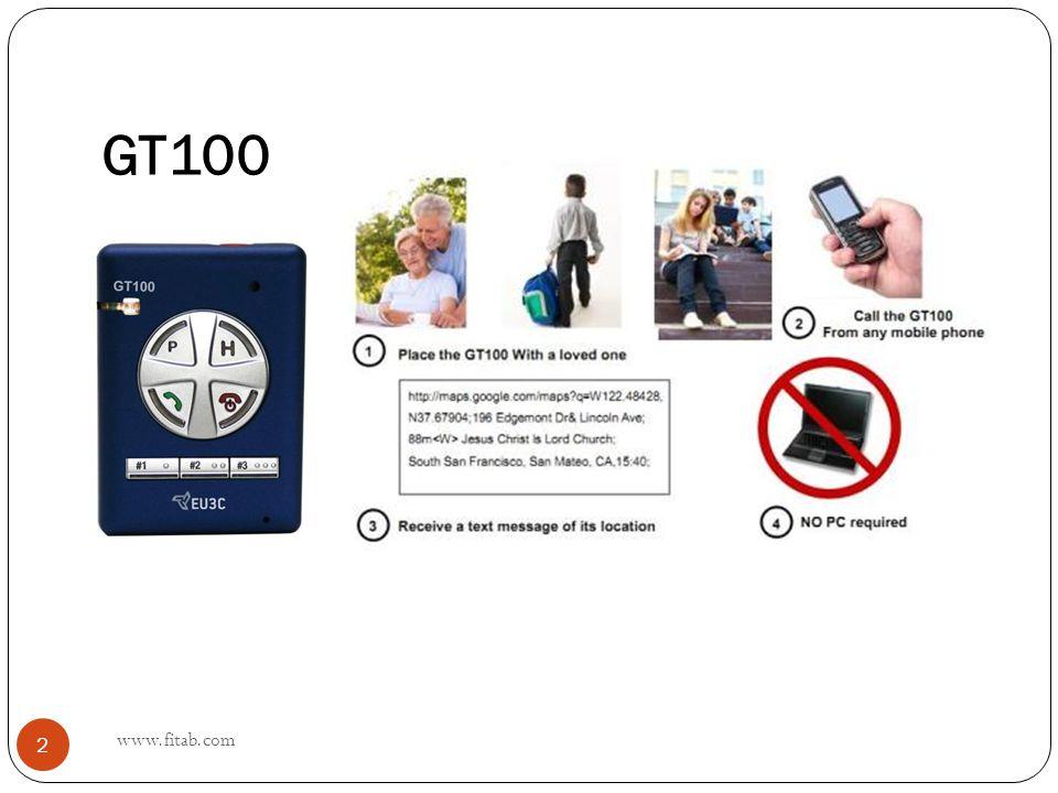 GT100 www.fitab.com 2