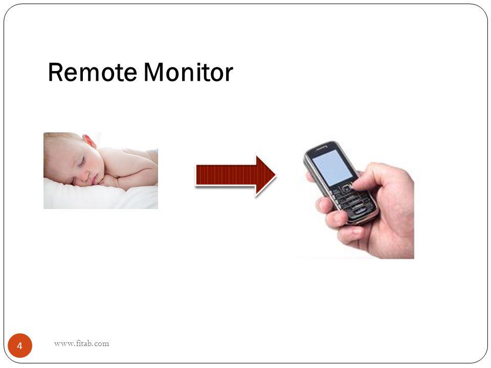 Remote Monitor www.fitab.com 4