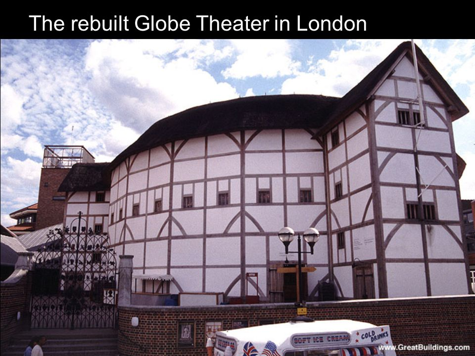 The rebuilt Globe Theater in London