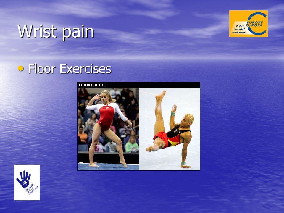 Wrist pain Floor Exercises Floor Exercises