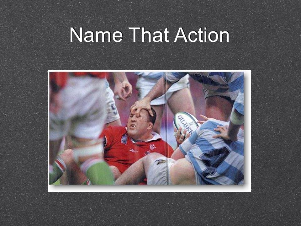 Name That Action