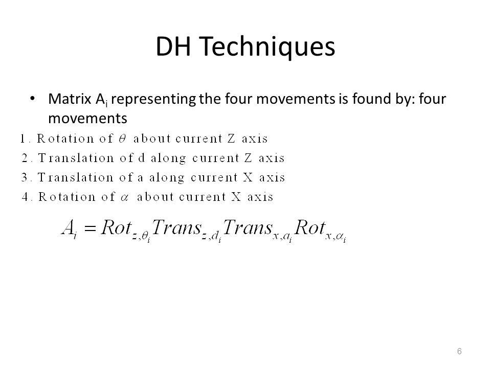 Example 4 Spherical wrist 27