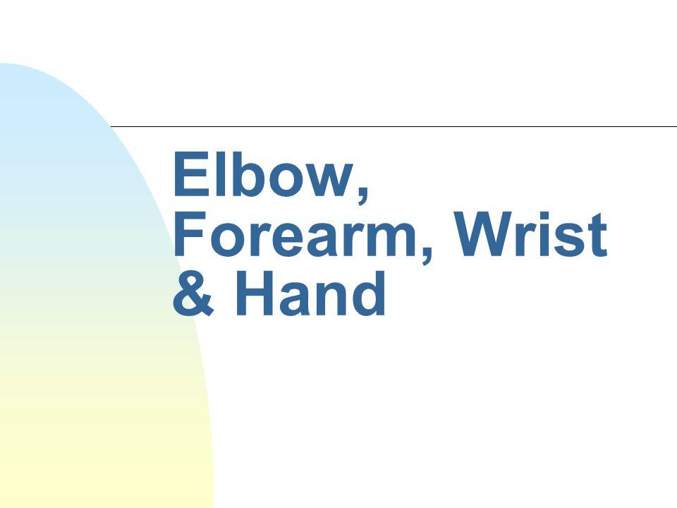 n S/Sx: often appears to be a wrist sprain.