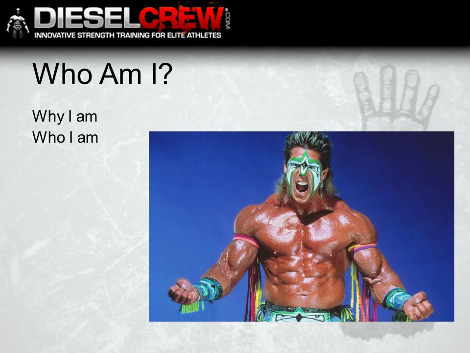Who Am I? Why I am Who I am