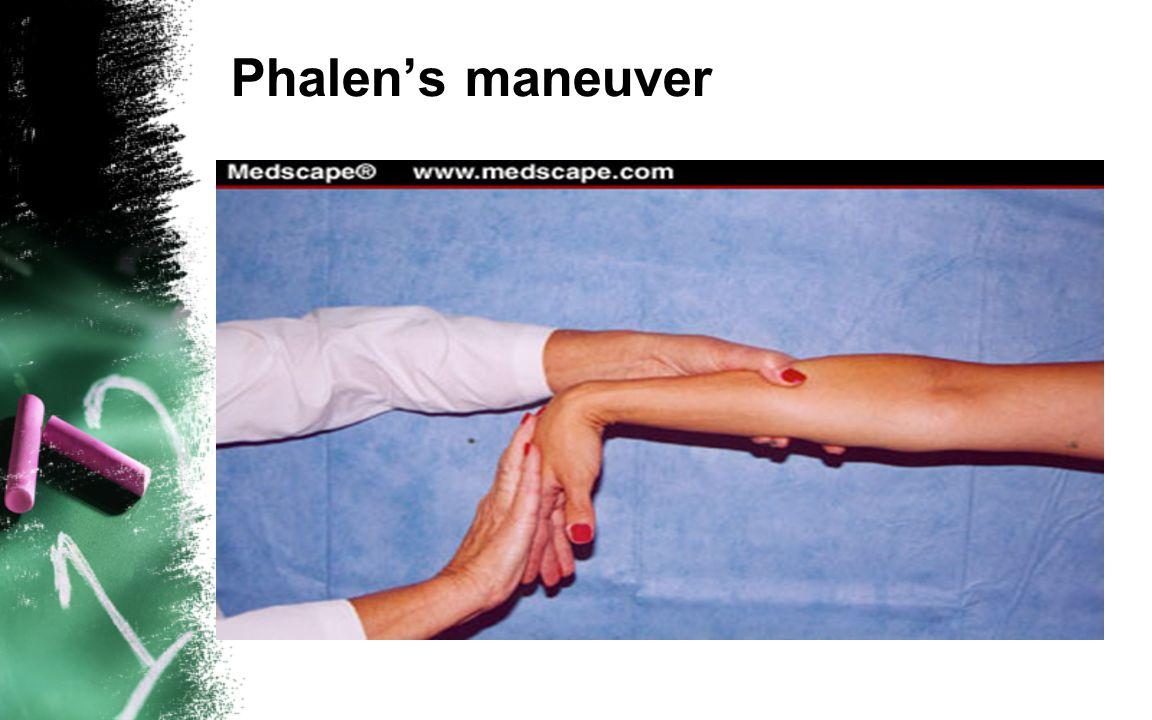 Phalen's maneuver